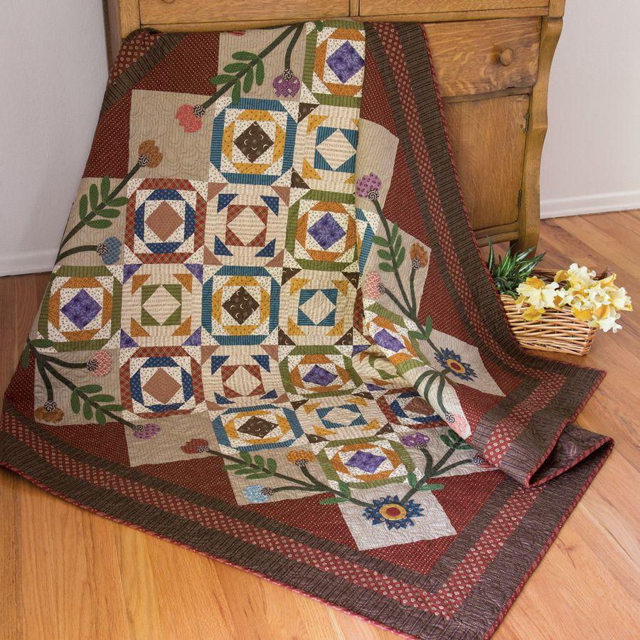 Foundation-pieced blocks and Civil War reproduction fabrics give ... : mccalls quilt blocks - Adamdwight.com