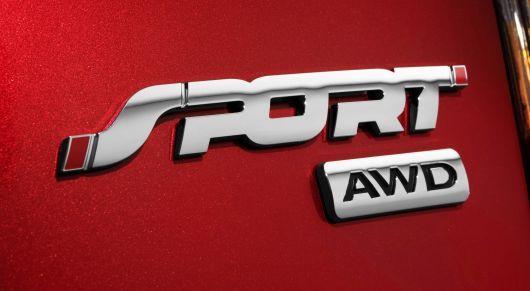 Ford Edge Sport Emblem