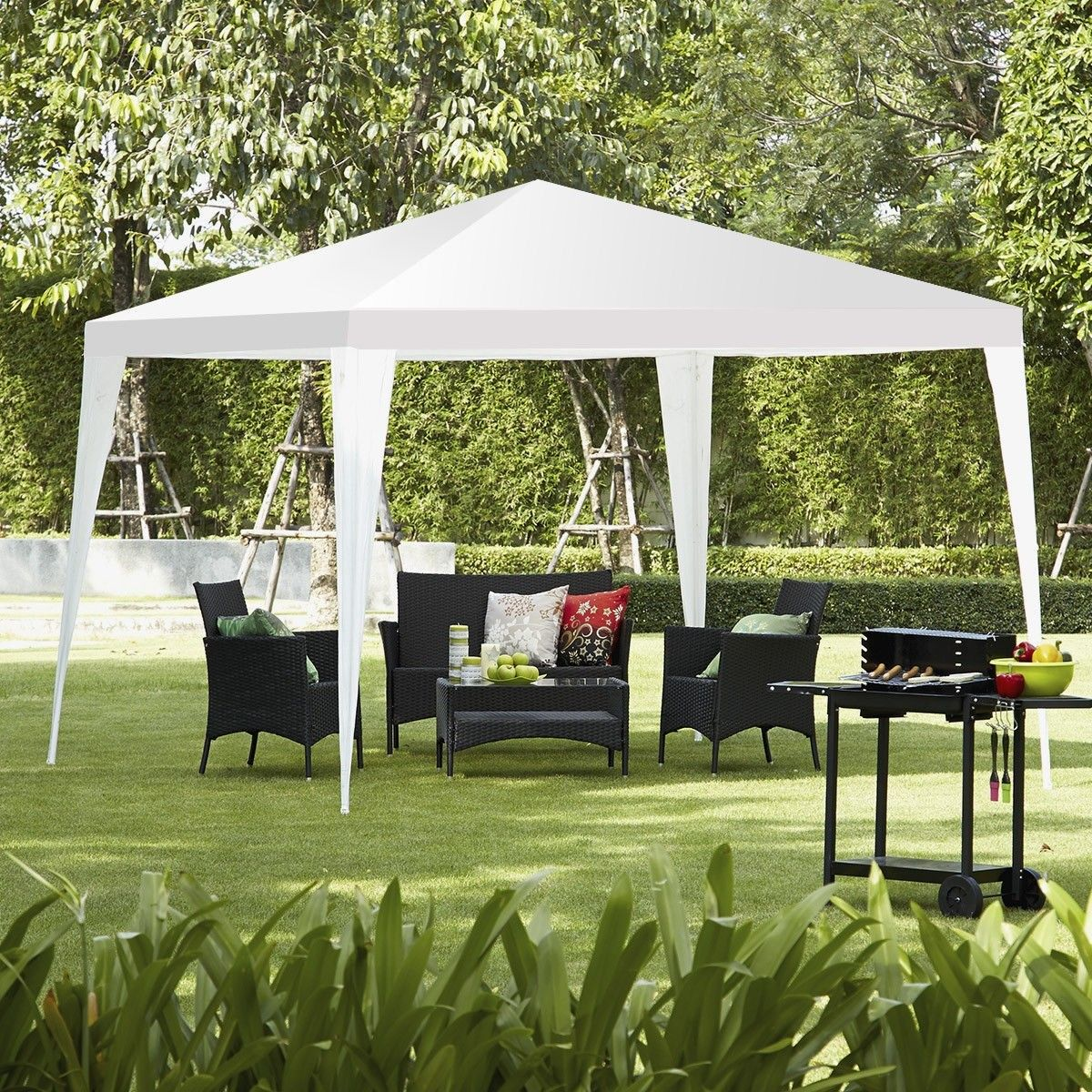 10 X 10 Outdoor Wedding Party Canopy Tent Party Canopy Shade Tent Canopy Tent