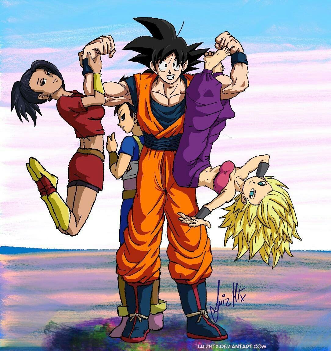 Goku X Tres Saiyayins Y Un Amor Prohibido Cauki Rozie Y Keula Nacieron Y Una Relacion En Crecis Personajes De Goku Personajes De Dragon Ball Goku