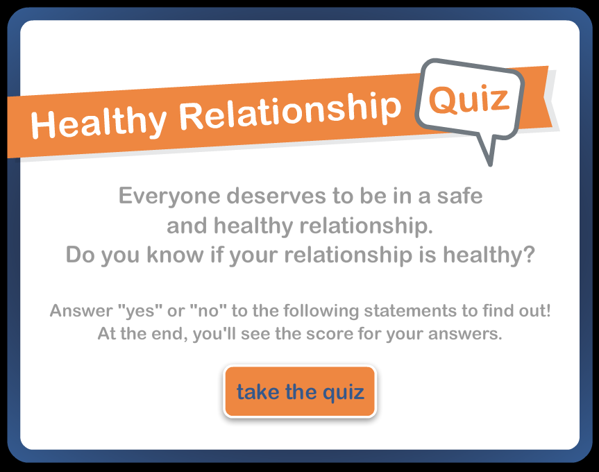 Healthy dating relationships quiz