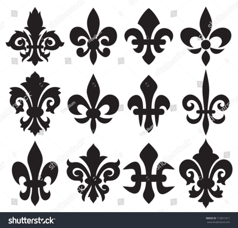 Lily Flower Heraldic Symbol Royal Symbol Pinterest Symbols