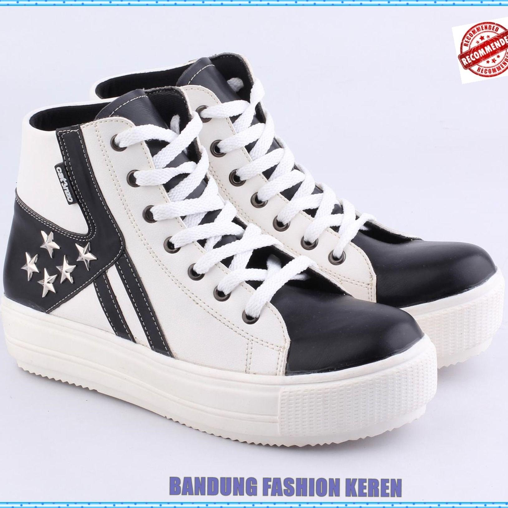 Sepatu Semi Boot Wanita Do 011 Produk Fashion Handmade Terbaik 100 Persen Asli Produk Indonesia Asal Bandung Kota Paris Van Java Produk Terbaru Dari B Sepatu