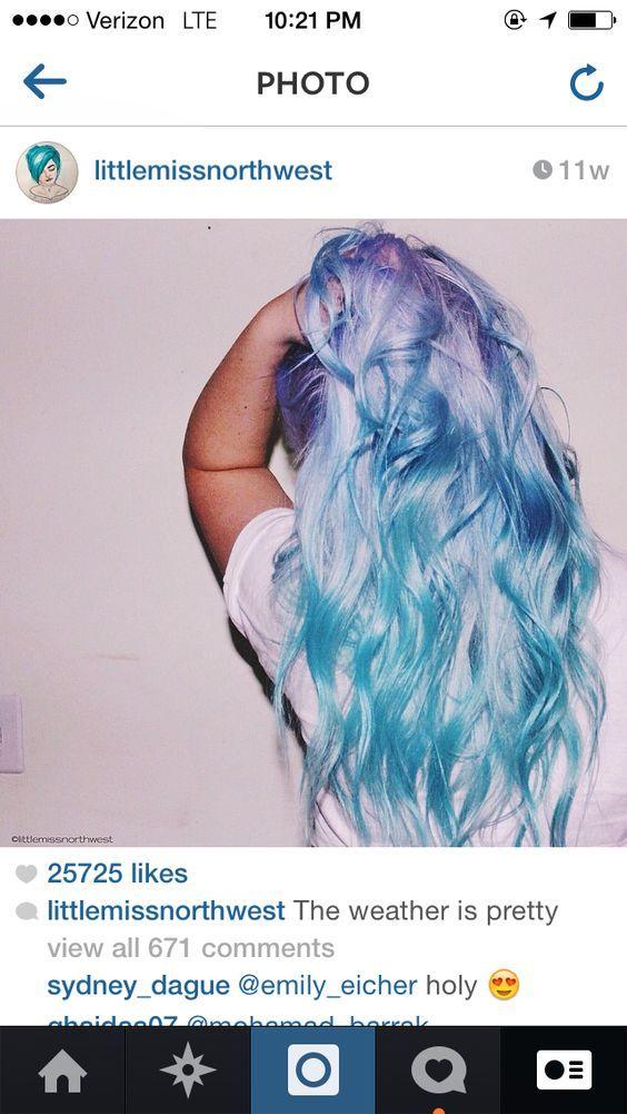 Pastel Hair Color Styles Cotton Candy Lavender Lilac Blue