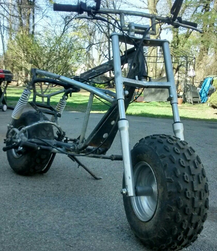 First gen  Baja warrior modified frame w/ full suspension | some of