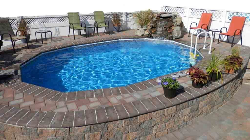 Best Semi Inground Pools Cost Longevity Depth Brands In