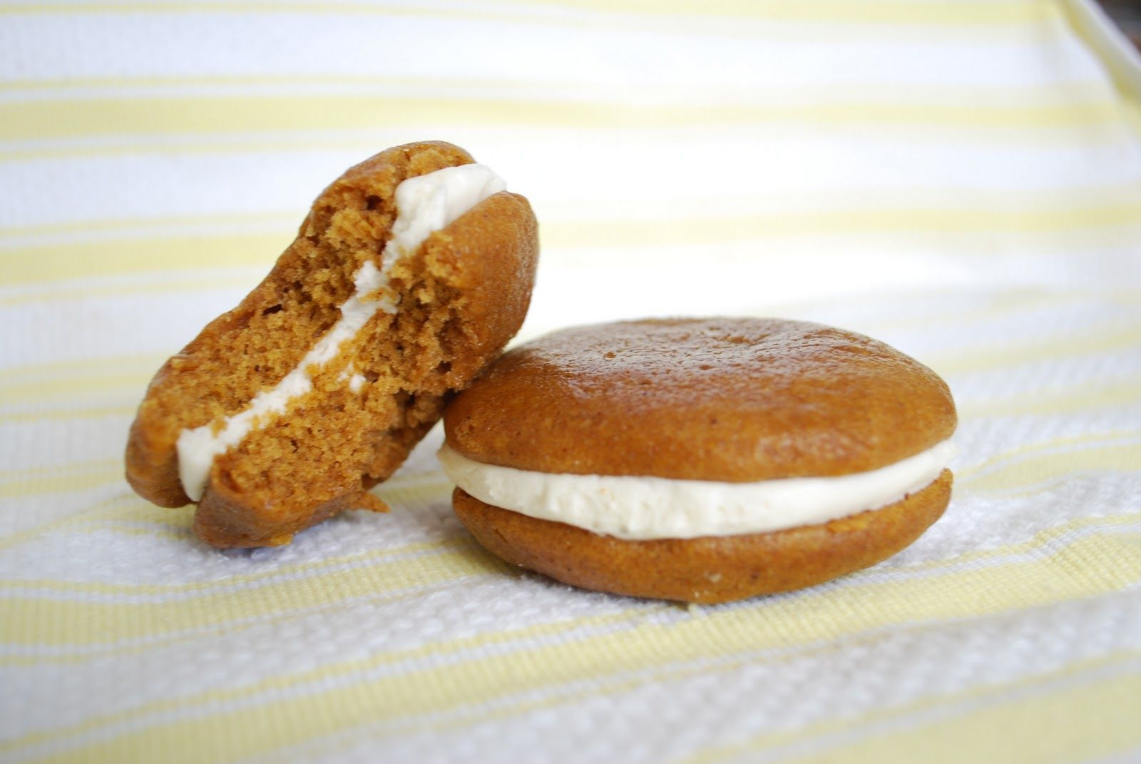 Another item in my series of pumpkin yummies, these whoopie pies are AH-MAY-ZING!!! I've made these for two different bake sales and th...