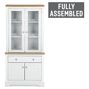 Heart Of House Westbury Display Unit With Lights White At Argos Co Uk Visit To Online For Units And Gl Cabinets
