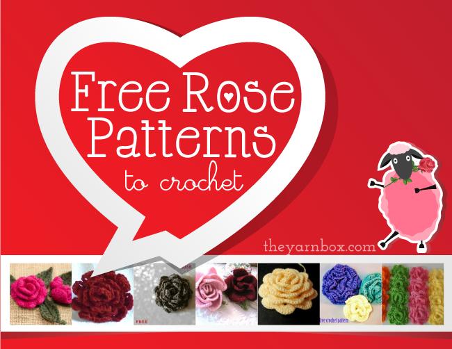 Free Rose Crochet Pattern Collection Crochetholic Hilariafina