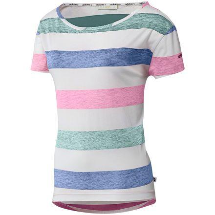 Camiseta a rayas Mujer adidas | adidas España