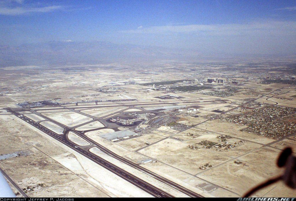 Las Vegas McCarran International Airport in 1980