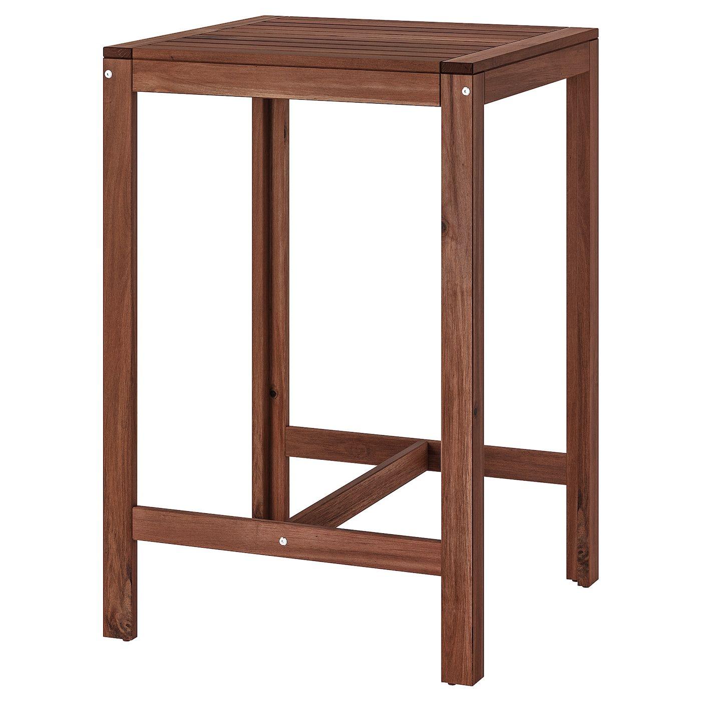 Applaro Bartisch Aussen Braun Las Ikea Osterreich In 2020 Outdoor Dining Table Bar Table Outdoor Dining Furniture