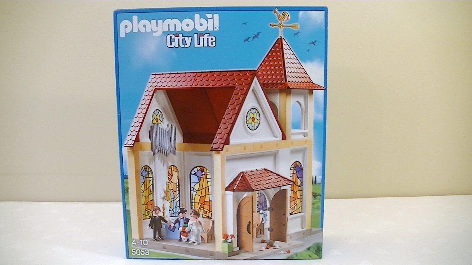 Playmobil 5053 City Life Wedding Church Assembly Review Christmas Display Playmobil City Life