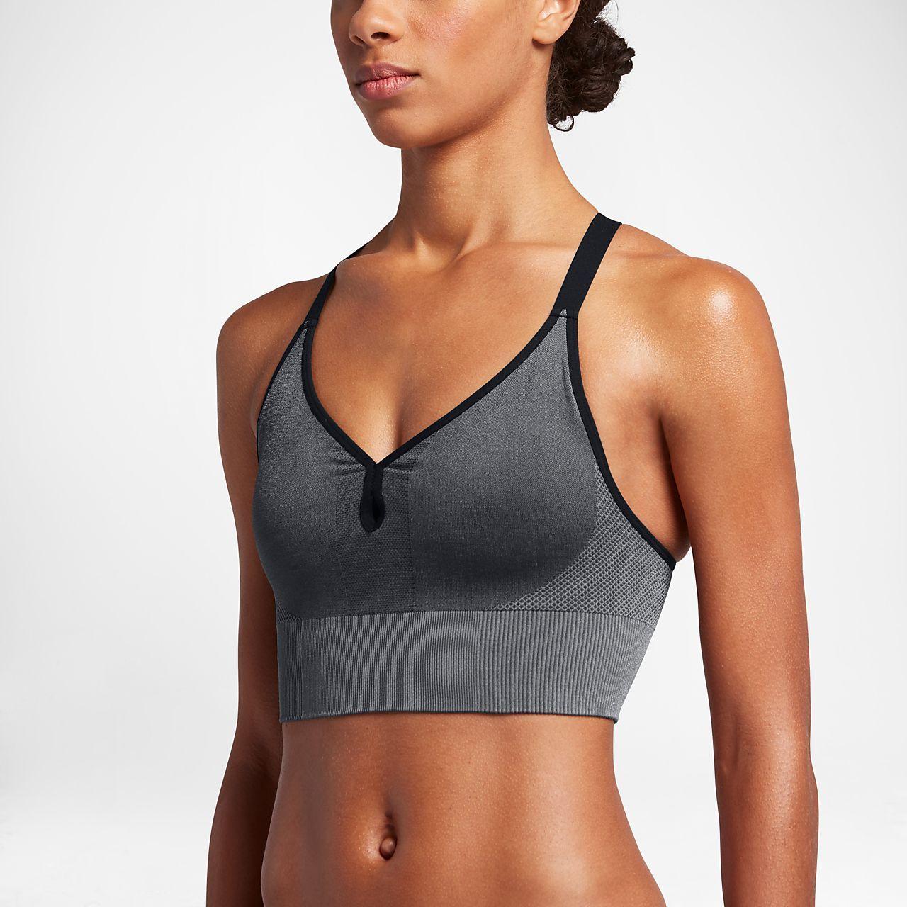1c4ec1aa41 Nike Women s Seamless Light Support Sports Bralette