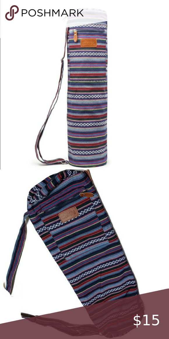 Elenture Tribal Aztec Yoga Mat Bag Dimensions 26 L X 6 5 Diameter Fits Balancefrom Mats And Standard Mats Bag Fits A Standard Yog In 2020 Yoga Mat Bag Mat Bag Bags