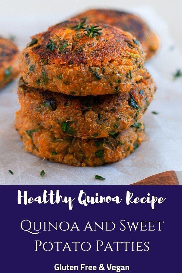 Photo of Quinoa and Sweet Potato Patties – Healthy, Gluten Free & Vegan