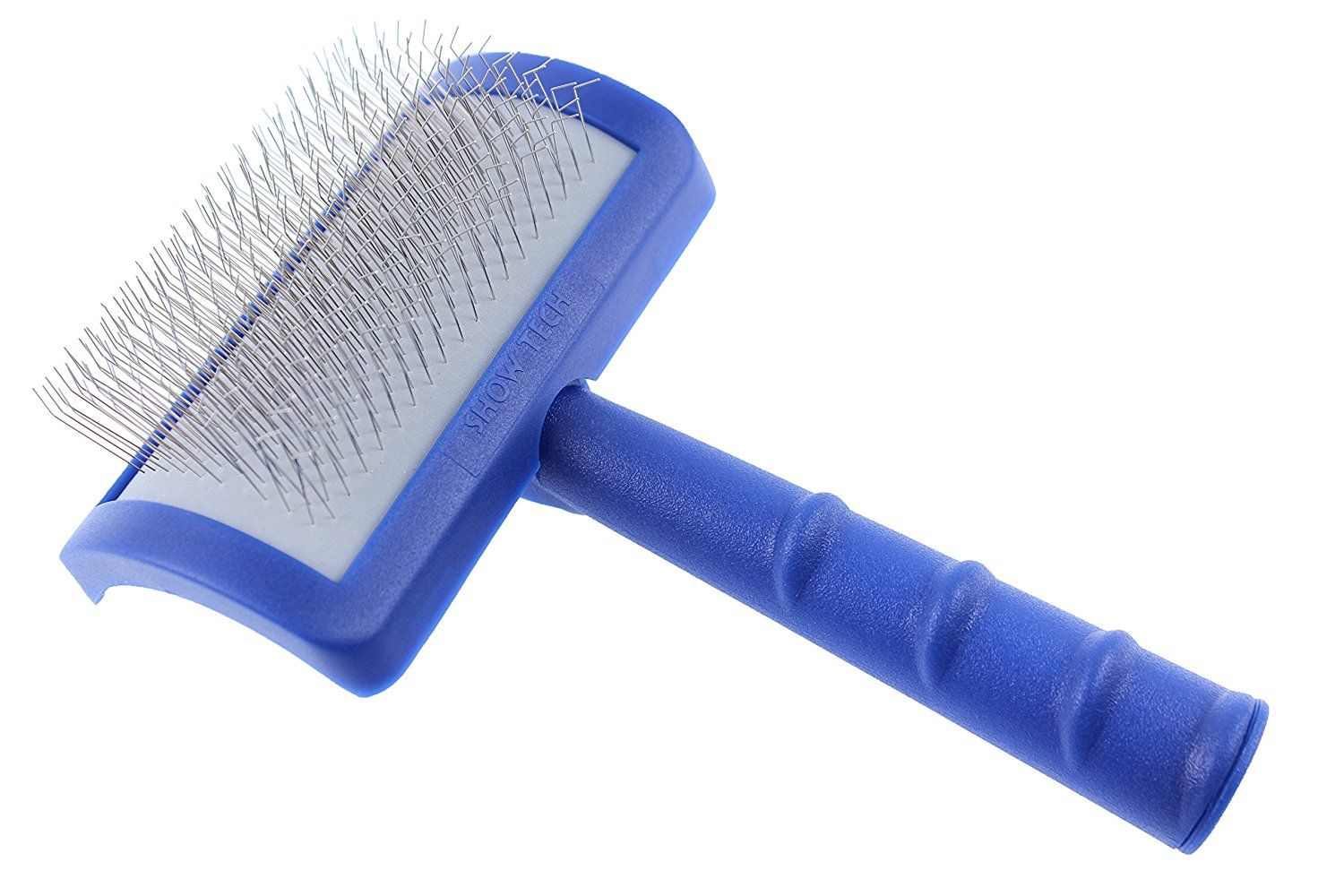 Dog and cat professional slicker brush for grooming with