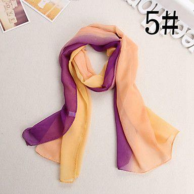 Ludy Women's Western Fashion Imitation Silk Scarf - CAD $ 4.04