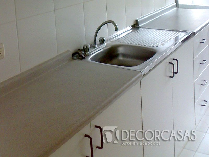 Para la parte baja donde van los lavaderos es aconsejable for Lavaderos de cocina
