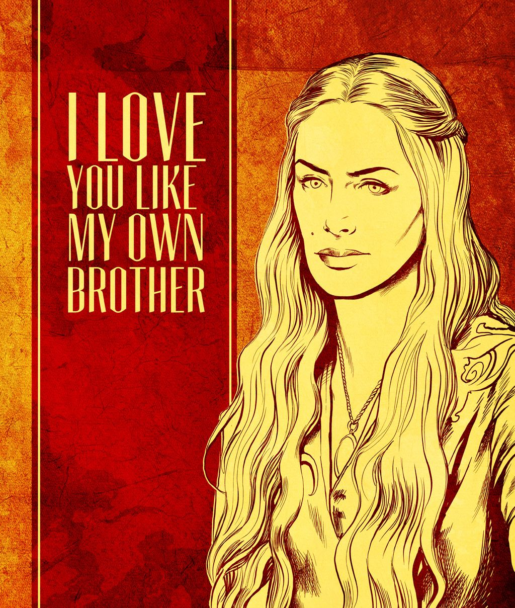 Game of Thrones Valentines - For that very special someone in your
