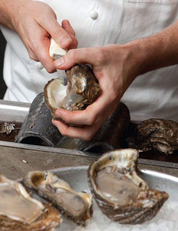 How To Shuck An Oyster Louisiana Cookin Magazine Oyster Recipes Oysters Shucking
