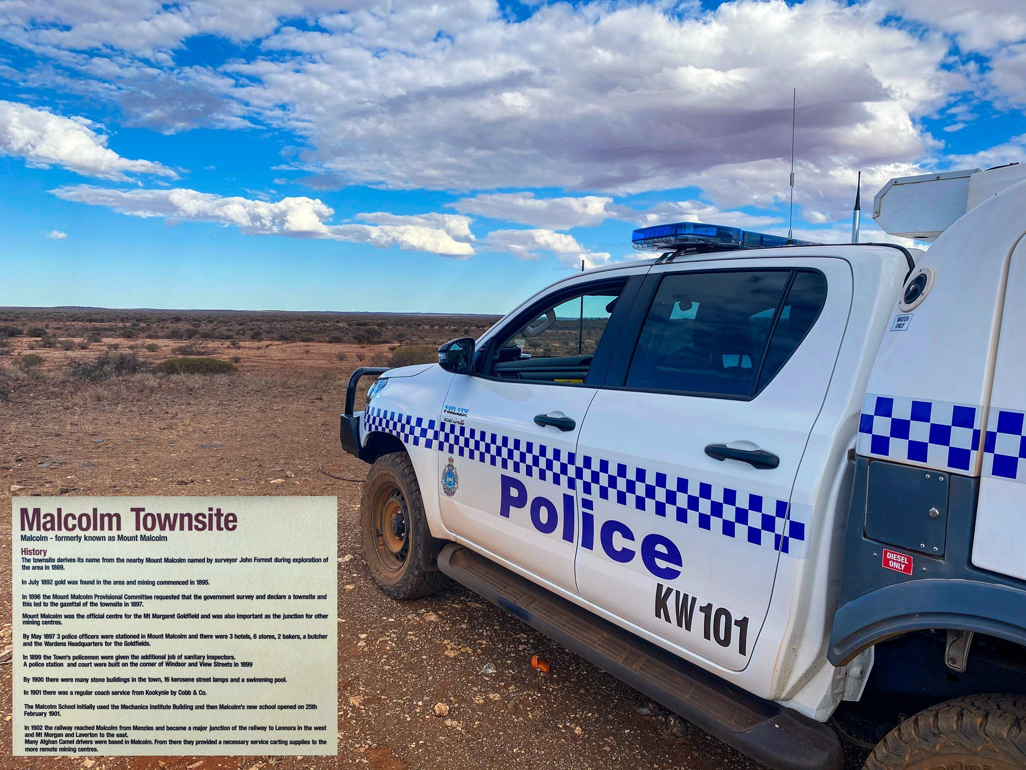 Leonora Police On Twitter Police Police Officer Police Cars