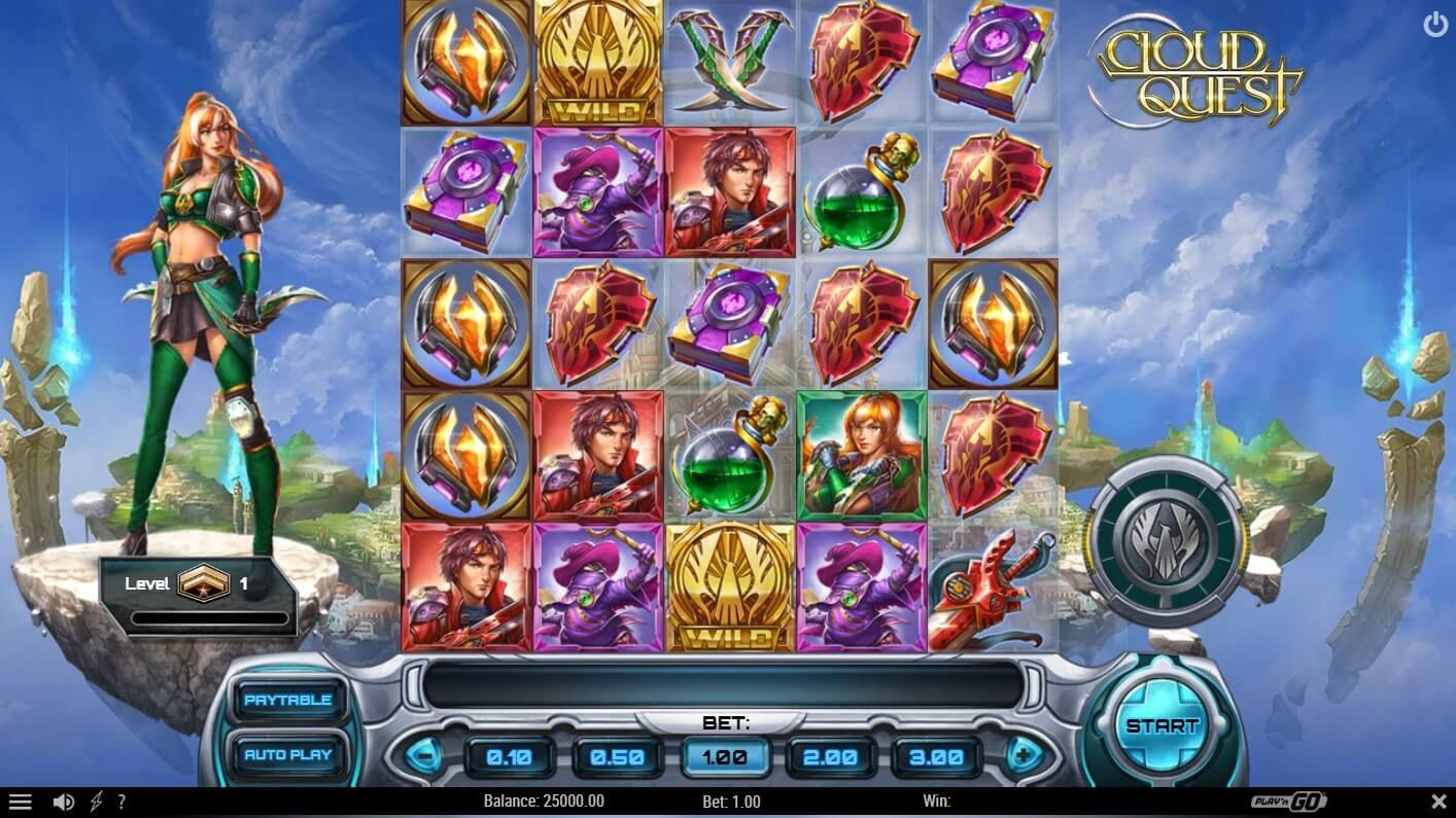 Cloud Quest Slot Machine No Download