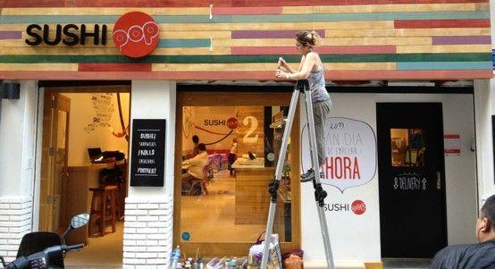 La fachada de nuestro local nuevaerapop pinterest - Fachadas de locales comerciales ...