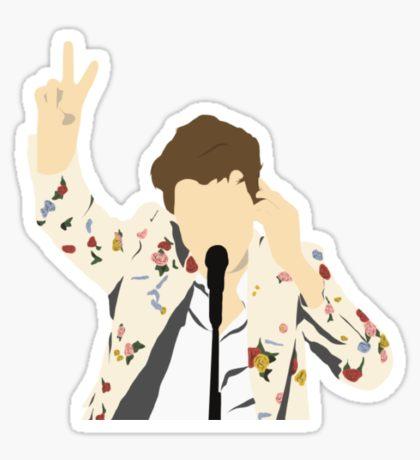 Pegatina Harry Styles Londres De Pamplemousse9 Pegatinas Bonitas Harry Styles Dibujo Pegatinas Wallpaper