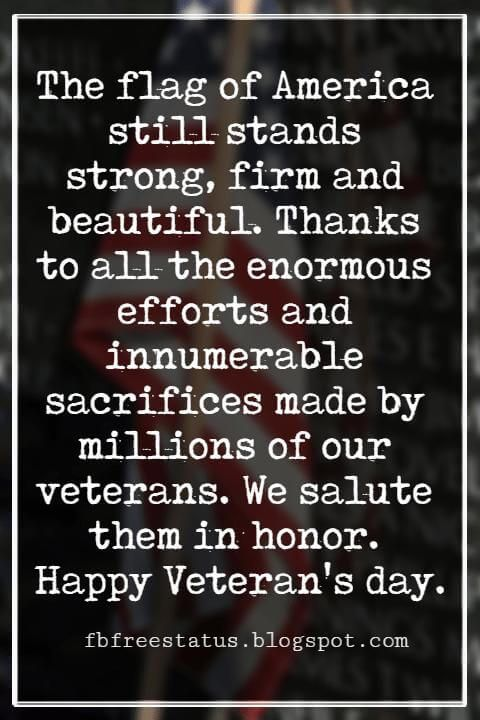 Veterans Day Quotes And Messages With Pictures