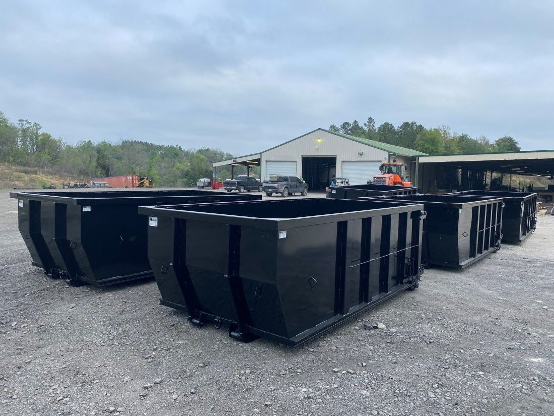 Custom Built Dumpsters For Sale 904 305 7534 American Made Dumpsters In 2020 Dumpsters Custom Build Dumpster