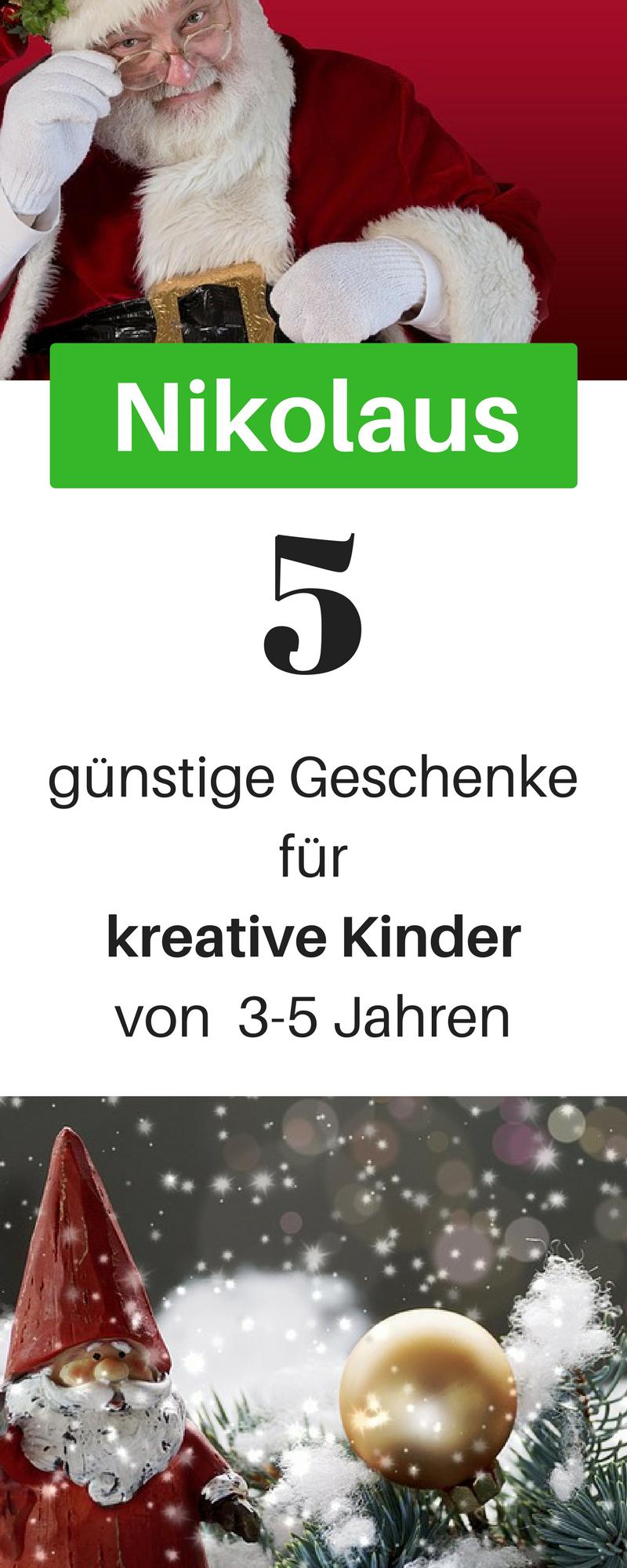 Nikolaus Geschenke für kreative Kinder zwischen 3 - 5 Jahren ...