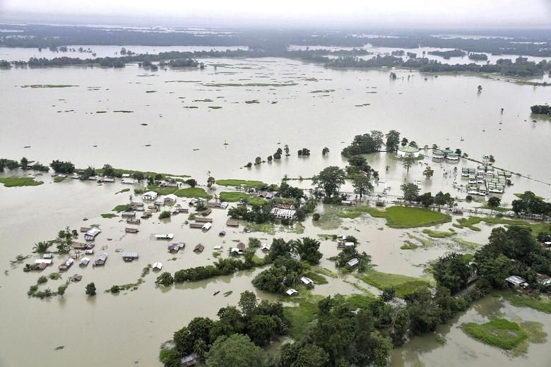 Assam floods july 2013 posted by flood