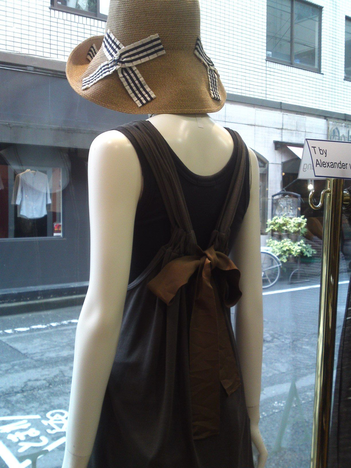 Muveil top/dress, Athena NY hat
