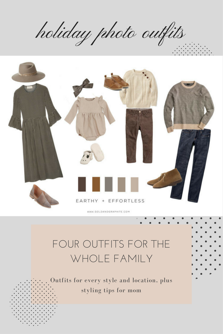 Family Holiday Photo Outfit #familyphotooutfits