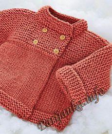 рукоделие вязание спицами вязание детям Baby Knitting Baby