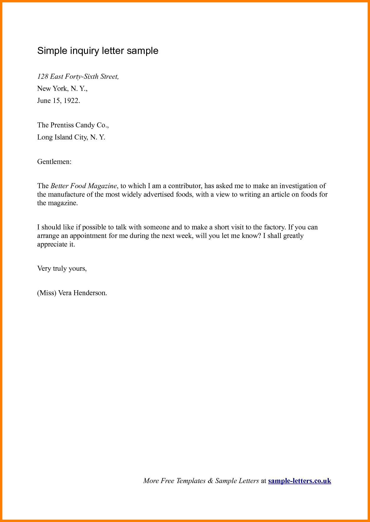 formal letters for leave application there are two common business letter formats the popular one is the block format which is easier to use and there is