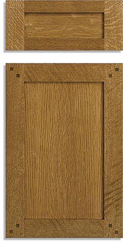 Mission Style Cabinet Doors | Custom Mission Doors ...
