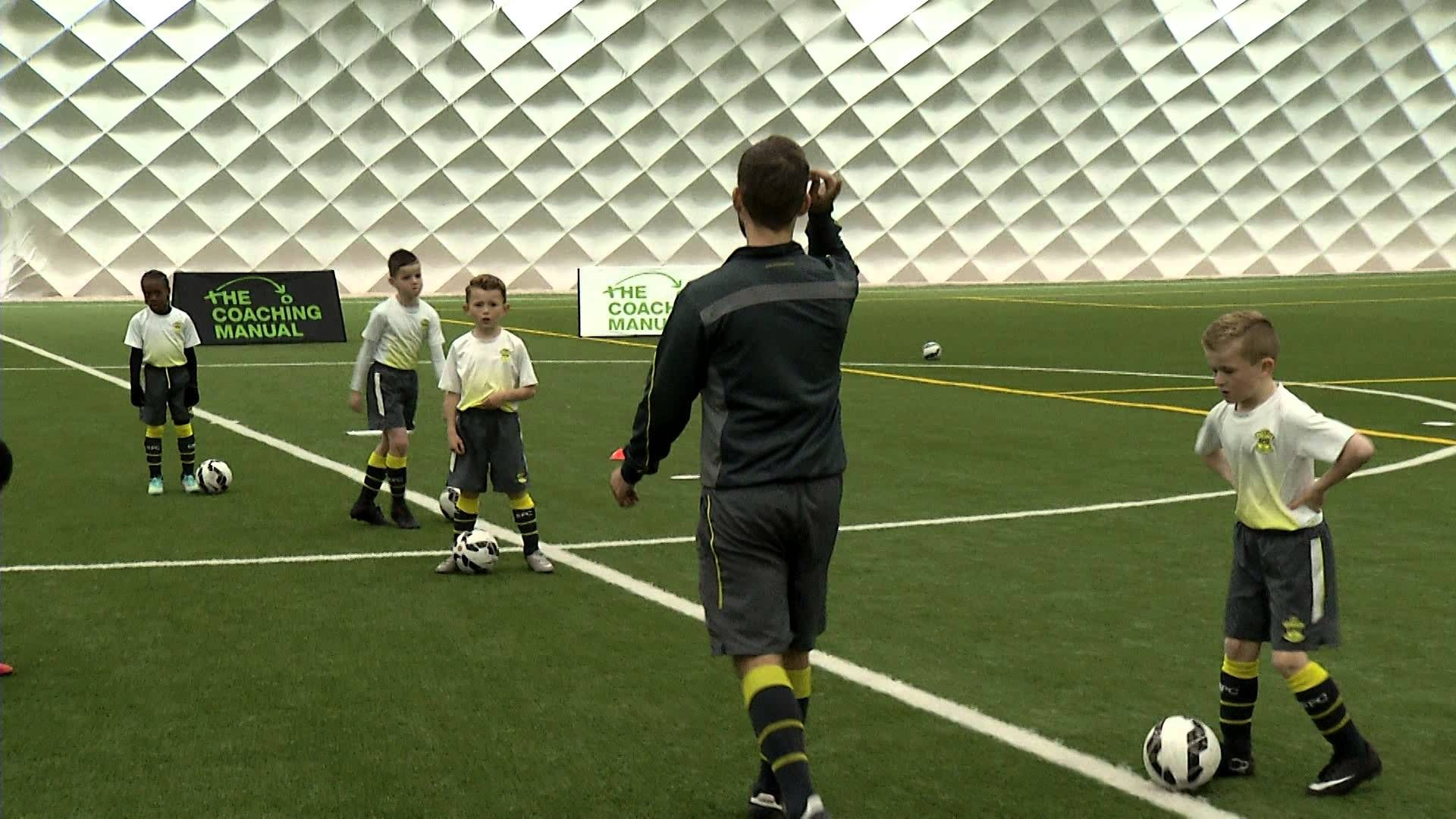 a21247059bbb3 Ball Mastery & Turns - Warm Up   Youth Coaching Drills   Soccer warm ...