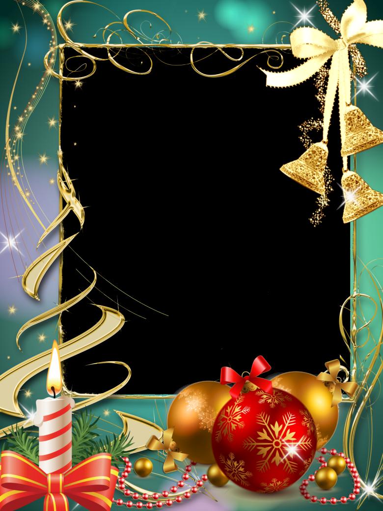 Marcos para fotos gratis orientación vertical, motivos navideños en ...
