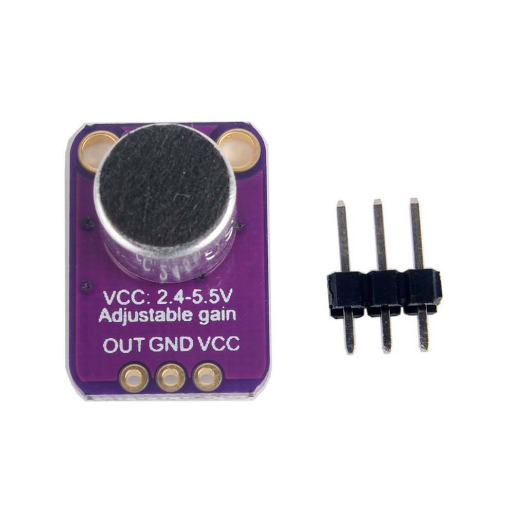 1 5 10x Gy Max4466 Electret Microphone Amplifier Sensor Sound Board Mic Preamp Circuit For Arduino Rcmall