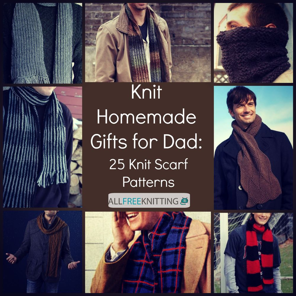 Knit homemade gifts for dad 25 knit scarf patterns knit scarf knit homemade gifts for dad 25 knit scarf patterns bankloansurffo Images