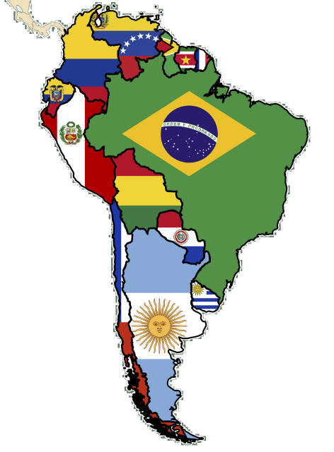 Great International Resources For Students Teachers South America Map South America Traveling By Yourself