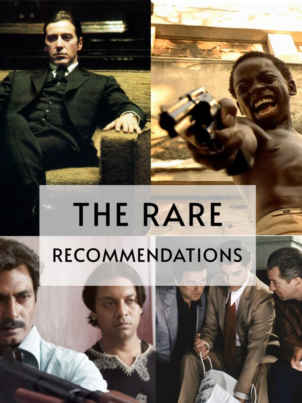 Top 5 Films About The Gangster Life Oscar Films Gangster Movies Indie Films