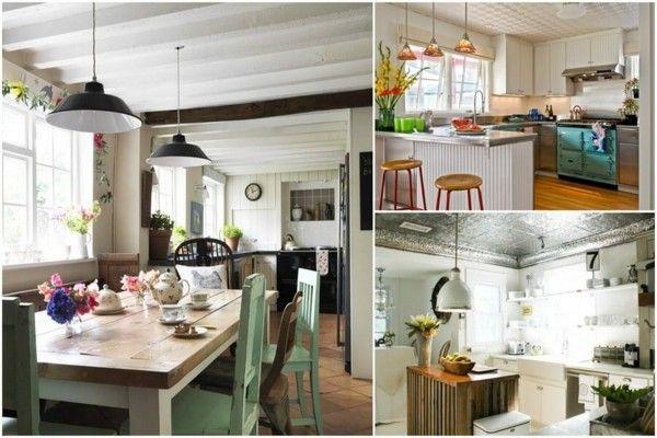 Küchenideen  kücheneinrichtung eklektische küchenideen küche einrichten | Küche ...