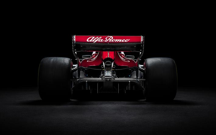 Download Wallpapers 4k Alfa Romeo Sauber C37 2018 Cars