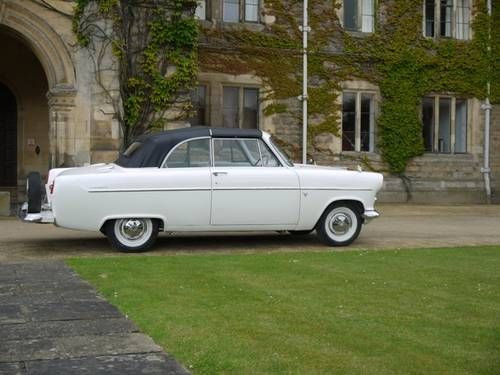 Highline Ford Consul convertible (1958)