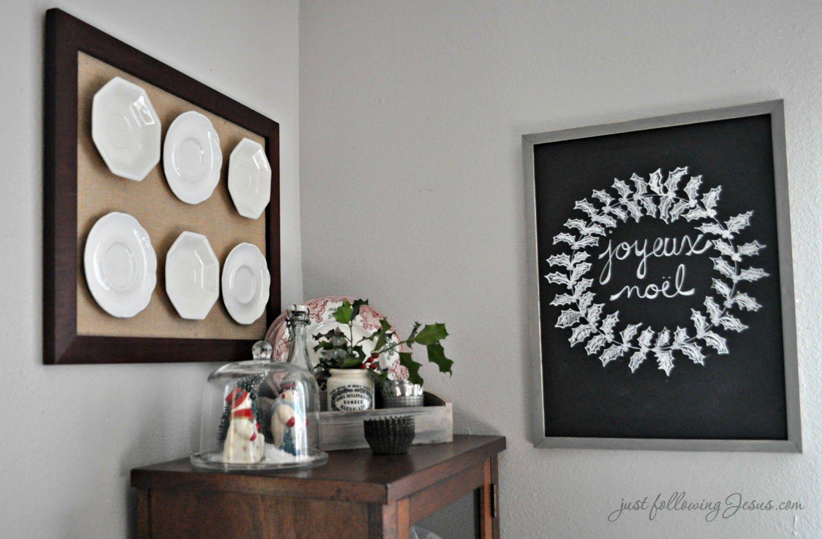 Home interior jesus just following jesus chalkboard  christmas ideas  pinterest