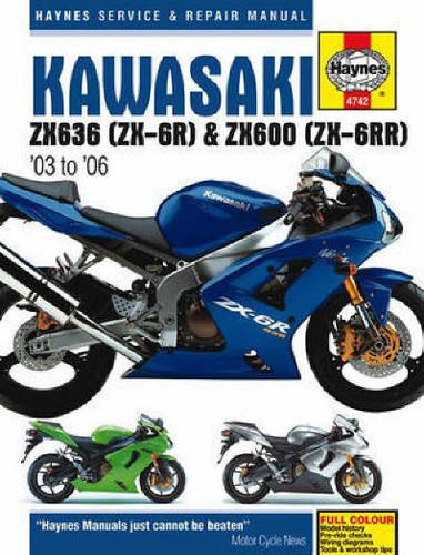2003 2006 Kawasaki Ninja 636 Zx6 Zx6r Zx6rr Manual Ebay Repair Manuals Zx6r Kawasaki