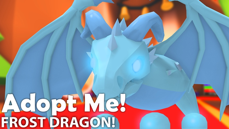 10 Frost Dragon Adopt Me Roblox In 2020 Adoption Pet Adoption Certificate Pet Dragon